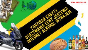 Zanzibar koszty utrzymania